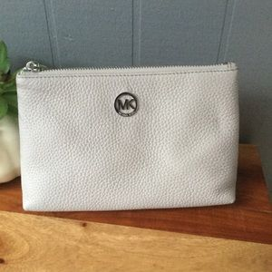Michael Kors Fulton Travel Case Leather NEW